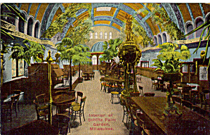 Jos Schlitz Brewing Co. Palm Garden Interior Milwaukee,WI (Image1)