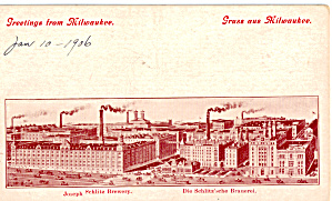 Jos Schlitz Brewing Co. Brewery Milwaukee,WI (Image1)