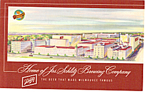 Jos Schlitz Brewing Co Brewery Milwaukee WI p30604 (Image1)