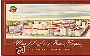 Jos Schlitz Brewing Co Brewery Milwaukee WI p30606 (Image1)