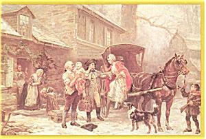 Home For Christmas Postcard   J.L.G.Ferris p3064 (Image1)