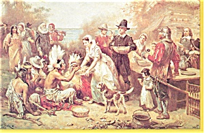 The First Thanksgiving Postcard   J.L.G.Ferri (Image1)