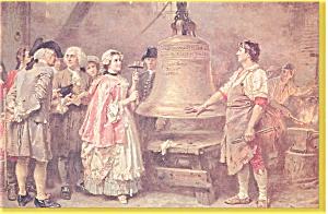 The Liberty Bell First Note Postcard   Ferris (Image1)