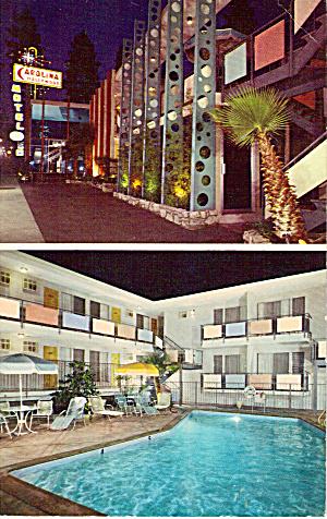 Carolina Hollywood Motel Hollywood CA p30695 (Image1)