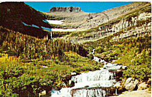 Waterfall Glacier National Park MT p30706 (Image1)
