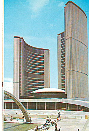City Hall and Nathan Phillips Square, Toronto (Image1)
