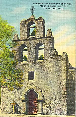Mission San Francisco De Espada San Antonio p30748 (Image1)