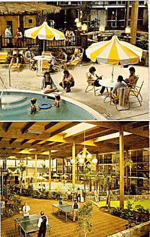Holiday Inn Holidome Suffern NY Postcard p30751 (Image1)