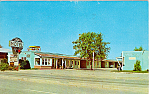 Star Motel Grand Junction Co Postcard P30760