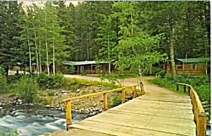 Absaroka Lodge Near Yellowstone Park p30782 (Image1)