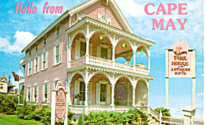 Pink House, Cape May, New Jersey (Image1)