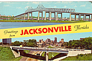 Jacksonville Florida John E Mathews Bridge Skyline p30822 (Image1)