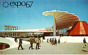 Air Canada Pavilion Expo 67 Montreal Canada P30860
