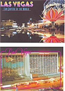 Flamingo Hilton Las Vegas Postcard  Lot 2 p3089 (Image1)