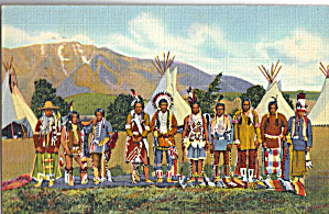 Apache Indians In Camp Arizona And New Mexico