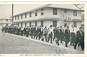 New Arrivals Reception Center Camp Lee Virginia (Image1)