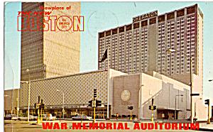 War Memorial Auditorium Prudential Center Boston MA p30931 (Image1)