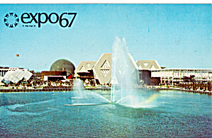 EXPO 67Montreal Canada General View From Place des Nations p30942 (Image1)