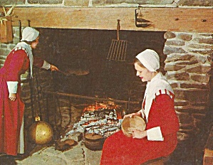 Pilgrim Women,First House  Plymouth, Massachusetts (Image1)