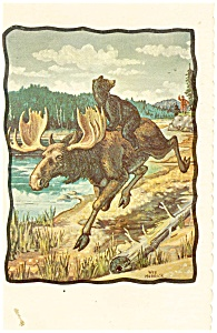 The Moose Escapes Postcard (Image1)