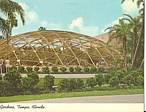 Tampa Florida Busch Gardens Geodesic Dome P31018 (Image1)