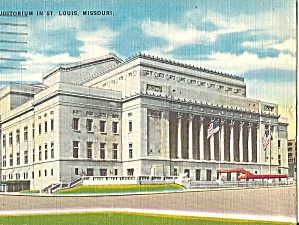 St Louis, Missouri, New Municipal Auditorium (Image1)
