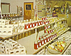 Lake Placid Florida Plantation Paradise Gift Shop Fruit Stand P31045