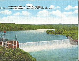 Lake Taneycomo, Missouri, Power Site Dam (Image1)