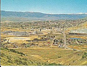 Butte, Montana, Open Pit Mining Operations p31093 (Image1)