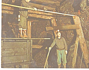 Ashland,Pennsylvania Measuring for a length of Timber (Image1)
