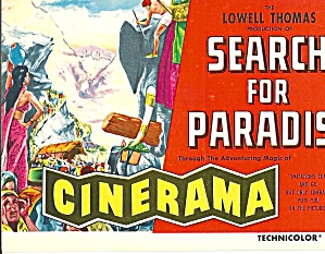 Cinerama Search for Paradise Lowell Thomas p31104 (Image1)