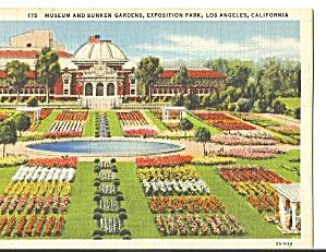 Museum Sunken Gardens Exposition Park Los Angeles CA p31117 (Image1)