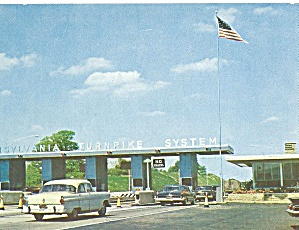 Pennsylvania Turnpike Toll Station HOWARD JOHNSON Card (Image1)