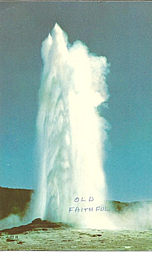 Yellowstone National Park WY Old Faithful Geyser p31153 (Image1)