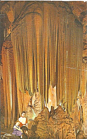 Virginia Lurary Caverns Saracens Tent Postcard P31159
