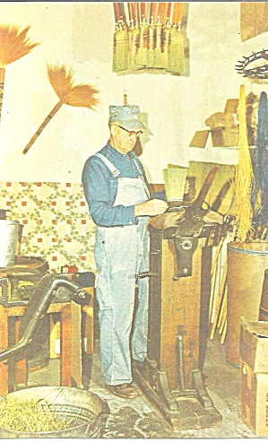 Pioneer Village, Minden, Nebraska, Broom Making (Image1)