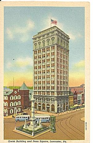 Lancaster Pennsylvania Greist Building and Penn Square p31170 (Image1)