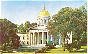 Vermont State Capitol Montpelier Postcard (Image1)