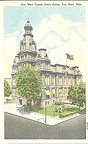Van Wert County Court House, Van Wert, Ohio (Image1)