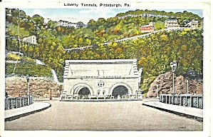 Pennyslvania , Liberty Tunnels, Pittsburgh
