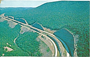 I-80 Keystone Shortwy Deep Cuts In Clinton County Pa P31195