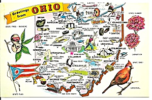 State Map of Ohio (Image1)