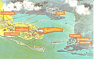 Map of Sun Coast of Florida (Image1)