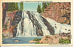 Gibbon Falls, Yellowstone National Park, Wyoming (Image1)