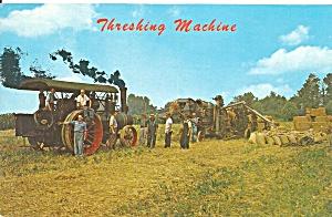 Steam Powered Threshing Machine Dutch Country p31217 (Image1)