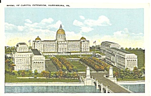 Model of Capitol Extension, Harrisburg, Pennsylvania (Image1)
