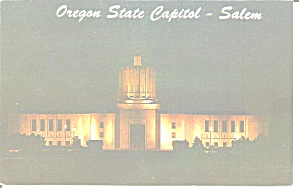 Salem Oregon State Capitol at Night p31241 (Image1)