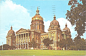 State Capitol, Des Moines, Iowa (Image1)