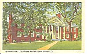 Lancaster Pennsylvania Franklin and Marshall College p31257 (Image1)