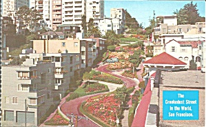 San Francisco, California Lombard Street,Crookedest Street in World (Image1)